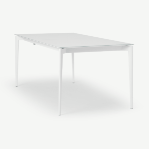Tandil 8-12 Seat Extending Dining Table, White